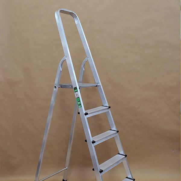 Οικιακή σκάλα αλουμινίου ενισχυμένη
