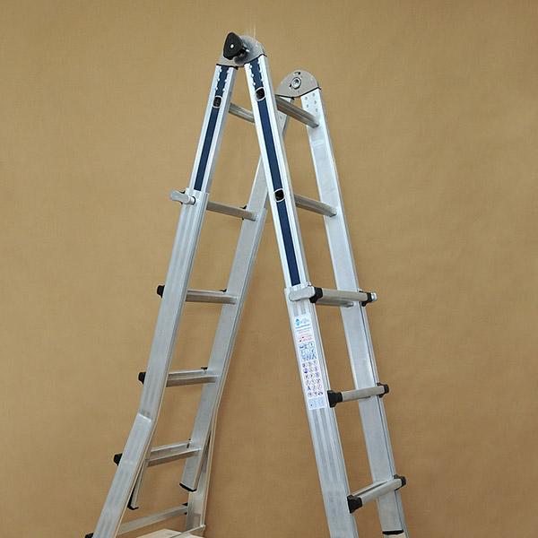 Επαγγελματική Τηλεσκοπική σκάλα αλουμινίου